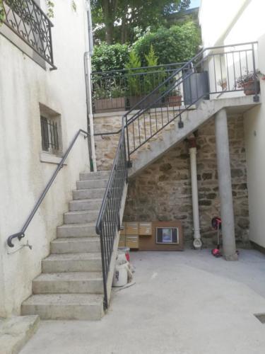 Rampe escalier 1
