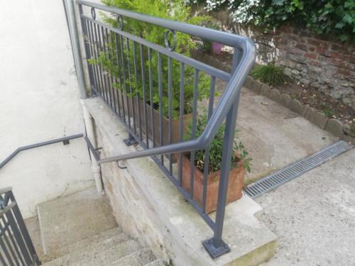 Rampe escalier 4
